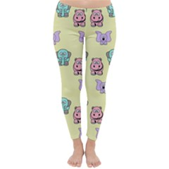 Animals Pastel Children Colorful Classic Winter Leggings