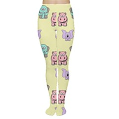 Animals Pastel Children Colorful Women s Tights