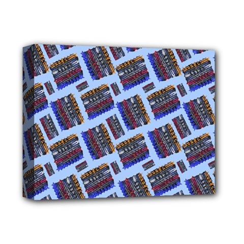 Abstract Pattern Seamless Artwork Deluxe Canvas 14  x 11
