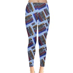 Abstract Pattern Seamless Artwork Leggings