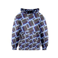 Abstract Pattern Seamless Artwork Kids  Pullover Hoodie
