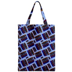 Abstract Pattern Seamless Artwork Zipper Classic Tote Bag