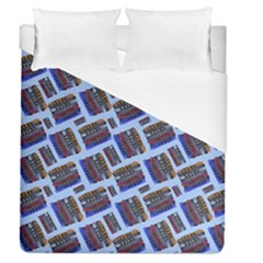 Abstract Pattern Seamless Artwork Duvet Cover (Queen Size)
