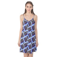 Abstract Pattern Seamless Artwork Camis Nightgown