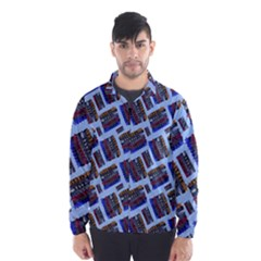 Abstract Pattern Seamless Artwork Wind Breaker (Men)