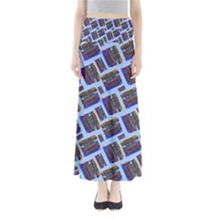 Abstract Pattern Seamless Artwork Maxi Skirts