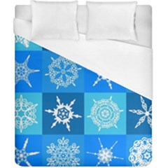 Background Blue Decoration Duvet Cover (California King Size)