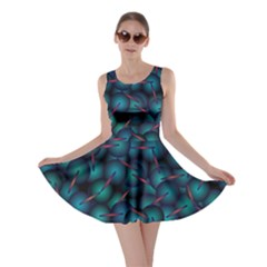 Background Abstract Textile Design Skater Dress