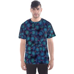 Background Abstract Textile Design Men s Sport Mesh Tee