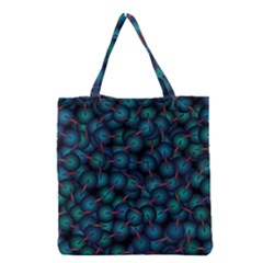Background Abstract Textile Design Grocery Tote Bag