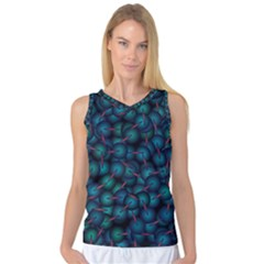 Background Abstract Textile Design Women s Basketball Tank Top