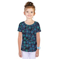 Background Abstract Textile Design Kids  One Piece Tee