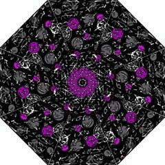 Purple mind Straight Umbrellas