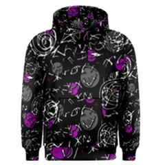 Purple mind Men s Pullover Hoodie