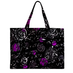 Purple mind Zipper Mini Tote Bag
