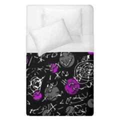 Purple mind Duvet Cover (Single Size)