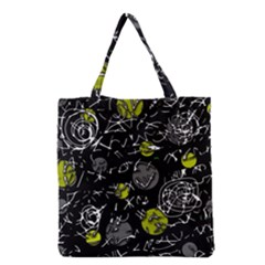 Yellow mind Grocery Tote Bag