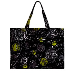 Yellow mind Zipper Mini Tote Bag