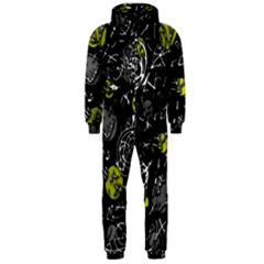 Yellow mind Hooded Jumpsuit (Men)