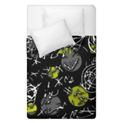 Yellow mind Duvet Cover Double Side (Single Size)