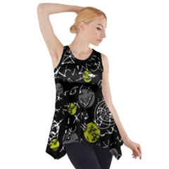 Yellow mind Side Drop Tank Tunic
