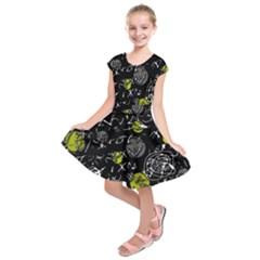 Yellow mind Kids  Short Sleeve Dress