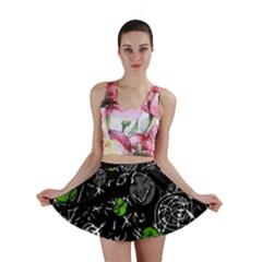 Green mind Mini Skirt