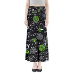 Green mind Maxi Skirts