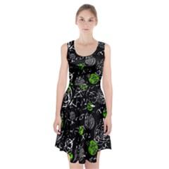 Green mind Racerback Midi Dress
