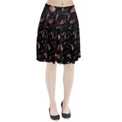 Elegant mind Pleated Skirt