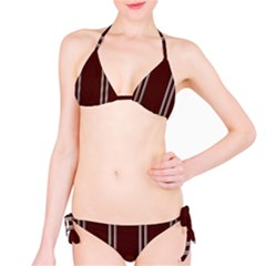 Background Texture Distress Bikini Set
