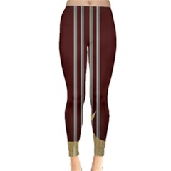 Background Texture Distress Leggings