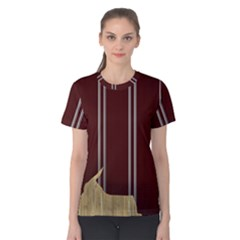 Background Texture Distress Women s Cotton Tee