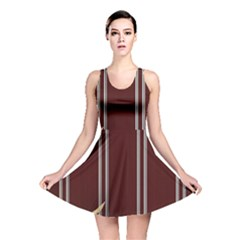 Background Texture Distress Reversible Skater Dress