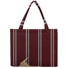 Background Texture Distress Mini Tote Bag