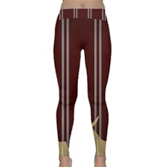 Background Texture Distress Classic Yoga Leggings