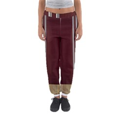 Background Texture Distress Women s Jogger Sweatpants