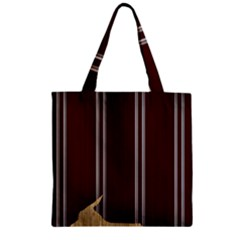 Background Texture Distress Zipper Grocery Tote Bag