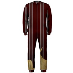 Background Texture Distress OnePiece Jumpsuit (Men)