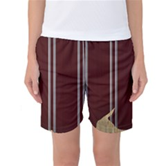 Background Texture Distress Women s Basketball Shorts