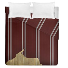 Background Texture Distress Duvet Cover Double Side (Queen Size)