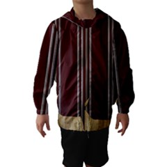 Background Texture Distress Hooded Wind Breaker (Kids)