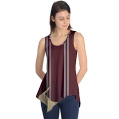 Background Texture Distress Sleeveless Tunic