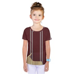 Background Texture Distress Kids  One Piece Tee