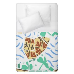 Broken Tile Texture Background Duvet Cover (Single Size)