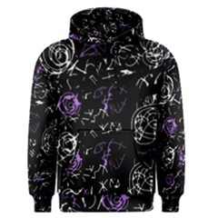 Abstract mind - purple Men s Pullover Hoodie