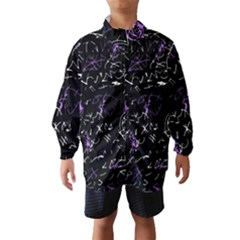Abstract mind - purple Wind Breaker (Kids)