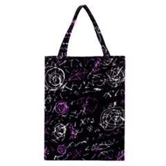Abstract mind - magenta Classic Tote Bag