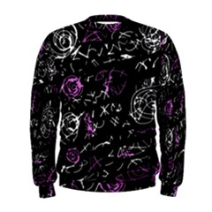 Abstract mind - magenta Men s Sweatshirt