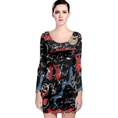 Confusion Long Sleeve Bodycon Dress
